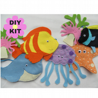 Sea creature DIY kit