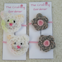 Mice hair bands, toddler hair bobbles