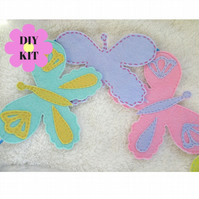 DIY kit butterfly bunting