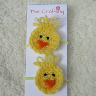 Duck hair bobbles
