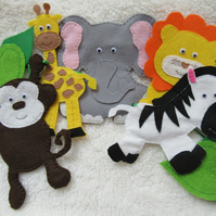 Safari animal nursery decor