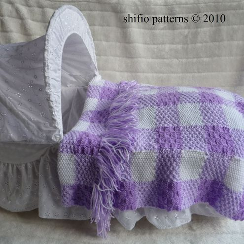 Knitting Pattern For Dolls Moses Basket : PATTERN FOR CLOTH MOSES BABY BASKET Sewing Patterns for Baby