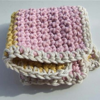 Battenburg Cake dishcloth