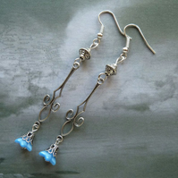 Blue Bells Earrings
