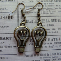 Unique 'See The Light' Earrings