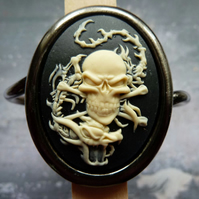 Dragon Skull Bangle