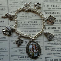 'Alice in Wonderland' Charm Bracelet