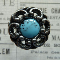Tim Holtz Button Ring