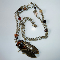 'Don't Bug Me' Necklace
