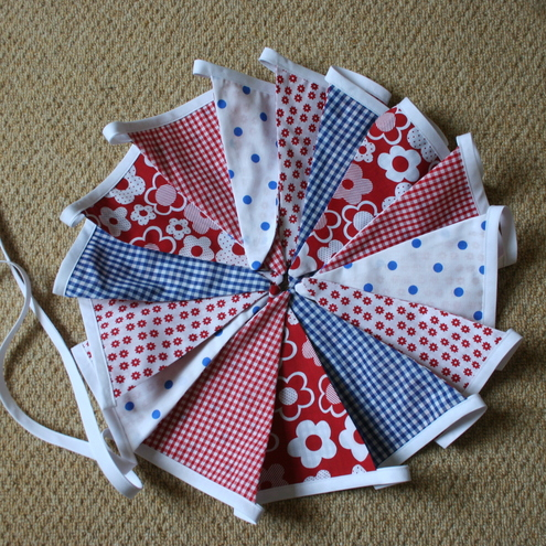 Bunting - Diamond Jubilee/Red,White and Blue