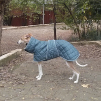 Custom Quilted Waterproof Whippet Coat