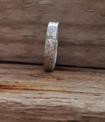 Silver or Gold Handmade Wedding Ring by MidasTouch Jewels in Wales