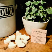 Coffee Scented Soy Wax Melts, Fresh Ground Coffee
