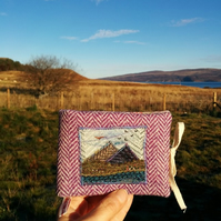 Harris Tweed sewing needlecase made on the Isle of Skye
