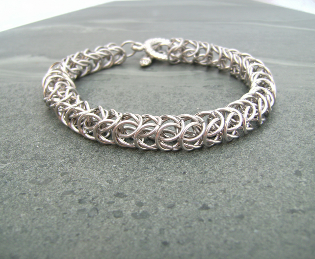 Medieval Style Chainmail Bracelet