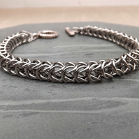 Steel Chainmaille Bracelet