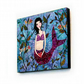 Little Mermaid Large Art Block Painting