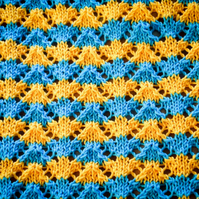 The Sun 'n' Surf baby blanket - DIGITAL PATTERN ONLY