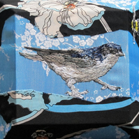 Housemartin and Bees textile art