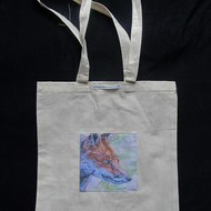 Fox Art Design Pocket Tote bag