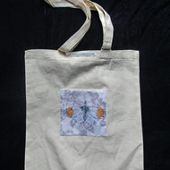 Butterfly Art Design Pocket Tote Bag