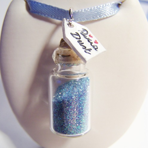 Pixie Dust Bottle Necklace