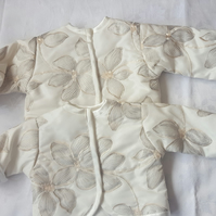 Baby Girl Padded Jacket, Bolero.