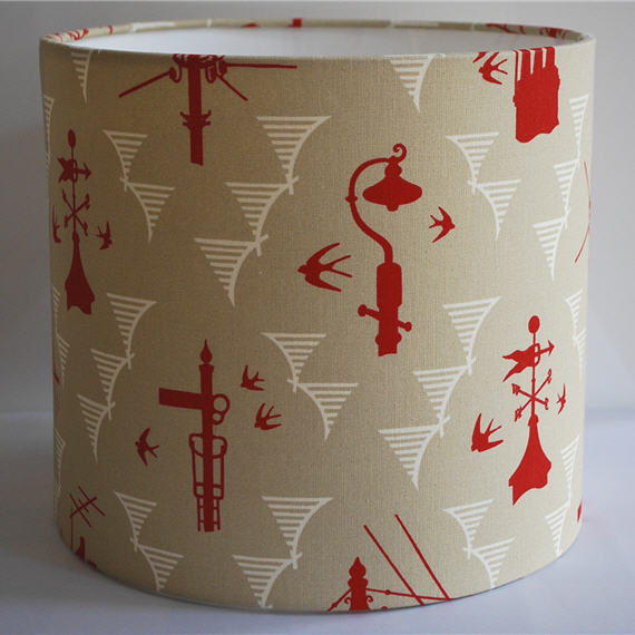 Kensal Rising Drum Lampshade