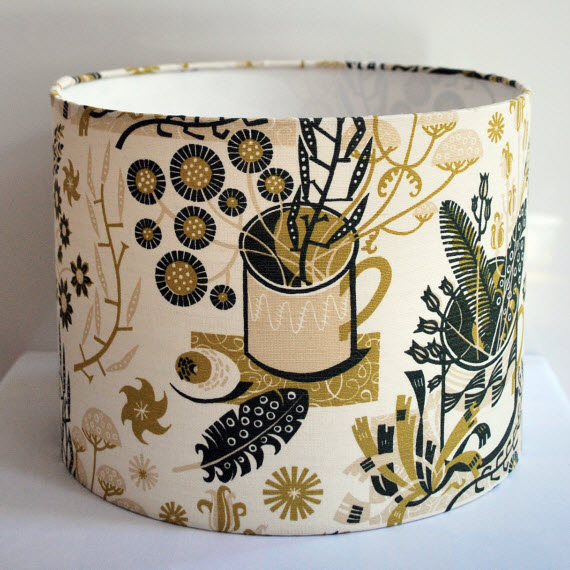 30cm Nature Table Drum Lampshade