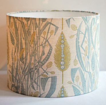 Meadow's Edge Drum Lampshade