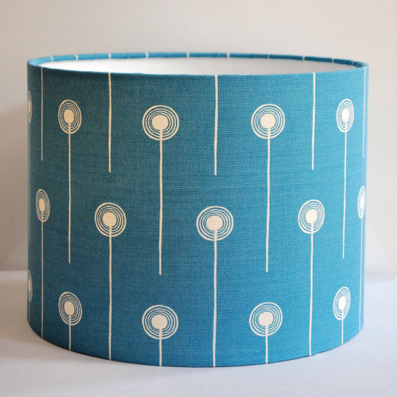 Dandelion Two Drum Lampshade