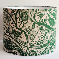 Wren Drum Lampshade