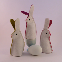 Easter bunny, Egg cosy, rabbit egg cosies, Easter gift, egg warmer, Easter bunny
