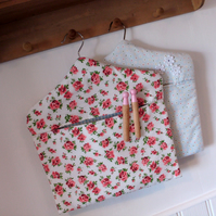 Peg bag, laundry bag, clothes pin bag, fabric peg bag, washing bag