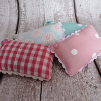 LAVENDER PILLOW, PIN CUSHION,SEWING ACCESSORIES
