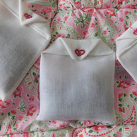 Lavender sachets pair,sleep aid,moth repellent,valentines gift