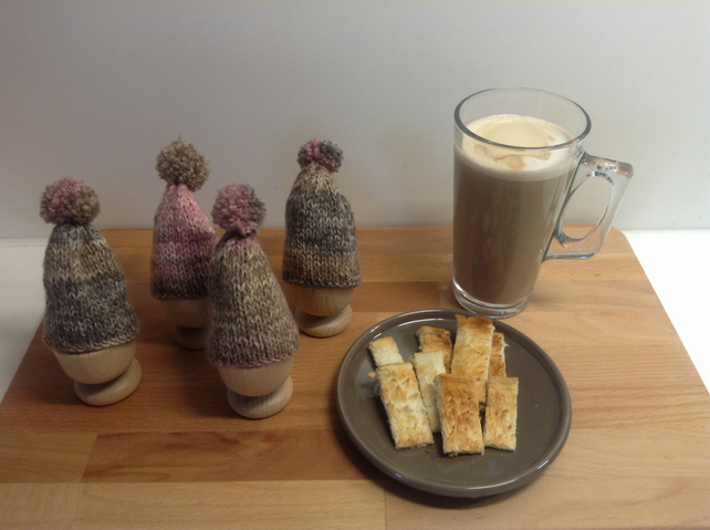 Set of 4 Egg Cosies