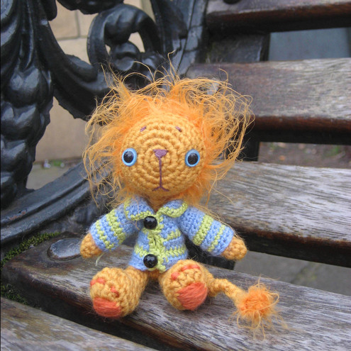 Geoffry The Lion - Amigurumi Pattern