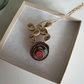 Paper Rudolph the red nose reindeer, Christmas tree decoration, paper quilling