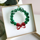 Paper Christmas Wreath Christmas tree decoration, paper quilling, plastic free