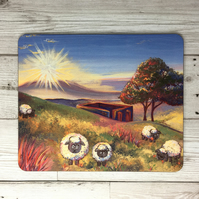 Haworth, Top Withens Sheep Placemat