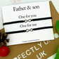 Father and son macrame matching bracelet, macrame bracelets, father and son matc