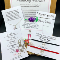 Friendship hamper, friendship gift, hampers, friendship bracelets, survival pack