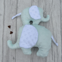 Plush Elephant, Softie Elephant, Baby Shower Gift, Newborn Gift, Baby Soft Toy,