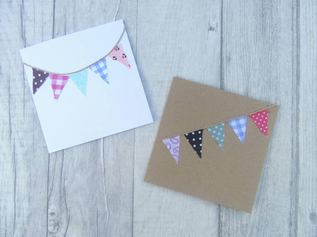 Multipack Any Occasion Cards, Bunting Cards, Celebration Cards, Greetings Card