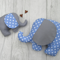 Baby Elephant Toy, Baby Gift, Baby Soft Toy, Newborn Toy, Softie Elephant Toy,