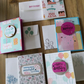 Set of Boxed Birthday Cards - Time to Celebrate - Lets Eat Cake!