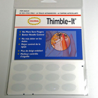 thimble it, thimble, sewing notion, thimbles, self stick finger pad, sewing gift