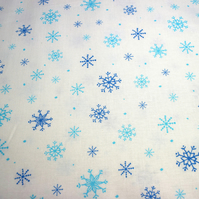 Snowflake fabric, quilting treasures, quilting fabric, price per half metre