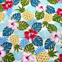 Pineapple Quilting Fabric, Cotton Fabric By Anna Bella - Price per half Metre